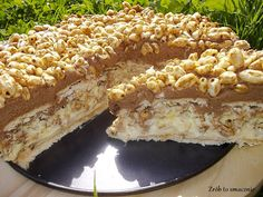Dessert Cake Recipes, Sweet Desserts, No Bake Desserts, Sweet Recipes, Vegan Sweets, Homemade Cakes, Baking Recipes, Food And Drink, Yummy Food