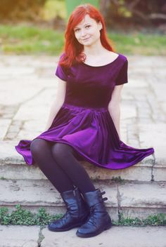 Purple haze dress