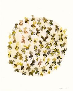 ≗ The Bee's Reverie ≗ bee art