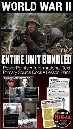 world war ii battleships History Lesson Plans, Social Studies Lesson Plans, Daily Lesson Plan, World History Lessons, Teaching History, Writing Exercises, World War, The Unit, How To Plan