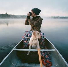 womenandwanderlust: More women, more wanderlust…. Adventure Awaits, Adventure Travel, Into The Wild, Mans Best Friend, The Great Outdoors, Kayaking, Canoeing, Labrador Retriever, Places To Go