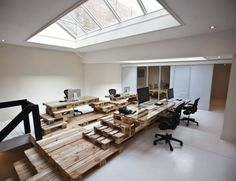 Brandbase Pallet Office by Most Architecture