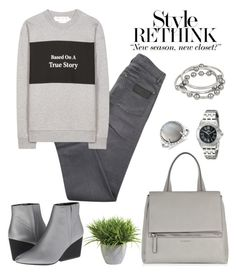 """""""Rethink."""" by schenonek on Polyvore featuring moda, April 77, Être Cécile, Invicta, Calvin Klein, Givenchy, Kenneth Cole, Ethan Allen, Blue Nile y women's clothing"""