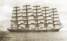 Tall Ships and Maritime History Royal Clipper, Old Sailing Ships, Uss Constitution, Full Sail, Ship Names, Sail Away, Model Ships, Tall Ships, Water Crafts