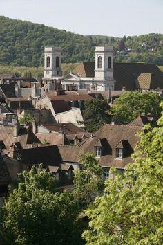 Les toits de Battant et l'eglise de la Madeleine