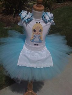 Alice in Wonderland Tee or Onesie ONLY by ButterflyBowtique, $22.00