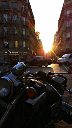 Paris, I love You and Your lovely sunsets... 2013