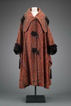 Coat by Ella A Puddington, 1910's United States (Boston), MFA Boston
