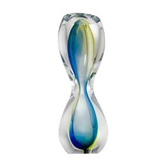 Hourglass Art Ornament