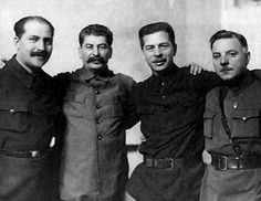 My Great Grand Mother's cousin [Left] with his buddies 1934 Joseph Stalin, Secret Obsession, Che Guevara, Mario, In This Moment, Communism, Historia, Biography