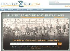 HistoryGeo.com - Family Tree Magazine 101 Best Websites 2013
