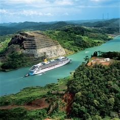 All Inclusive Panama Canal cruise with FREE Miami Stay from Santa Lucia, Cruise Travel, Cruise Vacation, Honduras, Barbados, Belize, Costa Rica, Around The World Cruise, Panama Cruise
