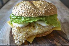 Fish Sandwich with Beano's Tartar Sauce http://conroyfoods.com/shop.php