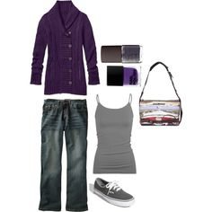 weekender, created by #abby-tobias on #polyvore. #fashion #style #Athleta #Vans