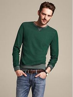 Colorblock Sweatshirt | Banana Republic