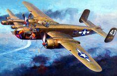 B-25 'Eating Kitty' by Shigeo Koike
