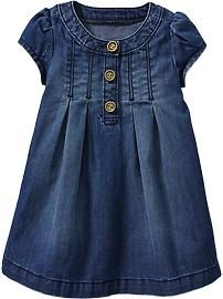 Denim Dresses for Baby
