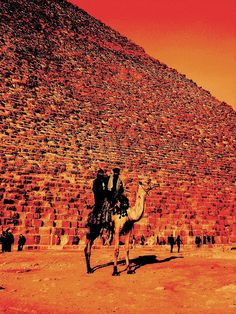 Pyramids, #Egypt.  Plan your trip here: http://www.ixigo.com/travel-guide/cairo