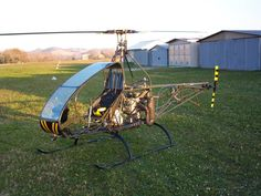 One seater copter by Italian DIY copter maker Vanni