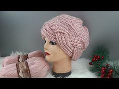 Baby Knitting Patterns, Knitting Designs, Crochet Patterns, Filet Crochet, Knit Crochet, Crochet Hats, Bonnet Hijab, Knitting Socks, Knitted Hats