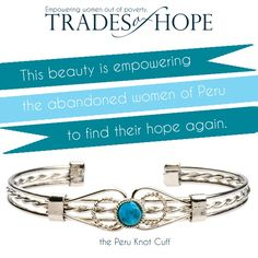 www.mytradesofhope.com/brendarustick  Women empowering women! You are not just purchasing jewelry, scarves or bags, you are investing in a women who is enduring poverty, getting out of the sex trade, providing food, education & medical care for her children.