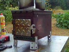 Ammo Box Stove up grade