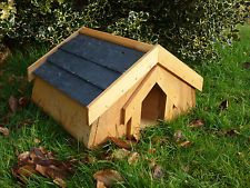 Hedgehog House with a SLATE ROOF  *Designed & Handcrafted by Country Rustics*