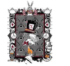 Tea Time Alice in Wonderland design Geek Shirts, Funny Tee Shirts, Time T, Tea Time, Cheap T Shirts, Cool T Shirts, Geek Culture, Pop Culture, Best T Shirt Designs