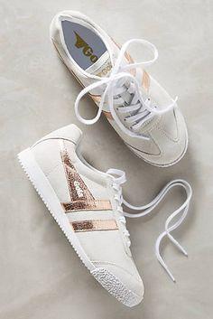 Gola Rose Gold Harrier Sneakers