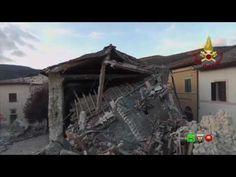 Sisma centro Italia - Soccorsi dei Vigili del Fuoco - Norcia 3 Novembre ...