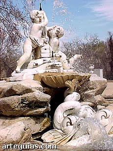 Fuente del Palacio de Aranjuez. Arte Barroco