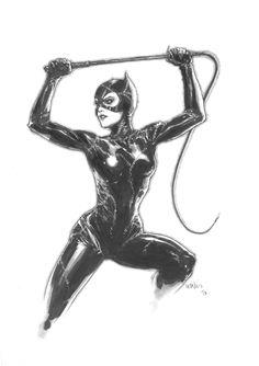 Catwoman by Leinil Yu *