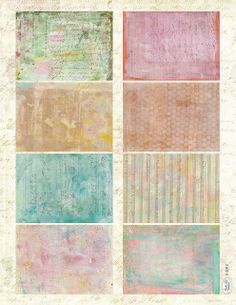 Jodie Lee Designs: Free Download! Art Journalling Cards