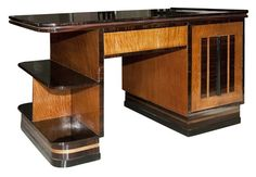 1920s Art Deco Desk