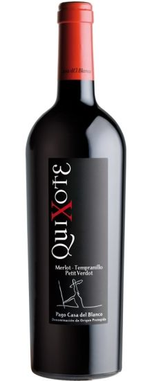 Pago Casa del Blanco 'Quixote' Merlot-Tempranillo (Castilla-La-Mancha) | Intoxicating mezclar from Spain's most rarefied appellation, DOP Pago. Gold Medal at Bacchus! Pair with Jamie Oliver's Moorish pork chops with smoky bacon-infused beans.
