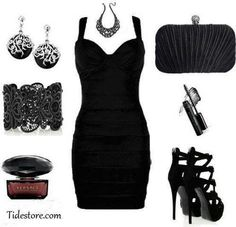 I want this for my New Years Eve outfit! Classy Outfits, Sexy Outfits, Pretty Outfits, Cute Outfits, Fashion Outfits, Fashion Ideas, Female Outfits, Pretty Clothes, Couture Fashion