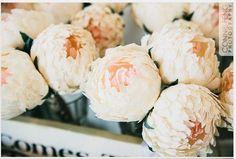 Wedding flowerswedding bouquetwedding peoniespaper by Mazziflowers, $18.00