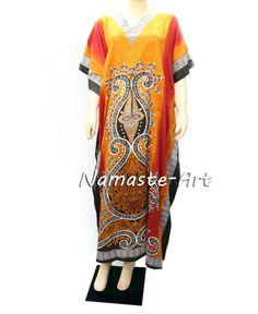 ] Indian Free Size Wear Any Wear Beach Season Casual Cover Up Boho Kaftan Dress  #Unbranded #KaftaanBeachDressMaxi #Casual