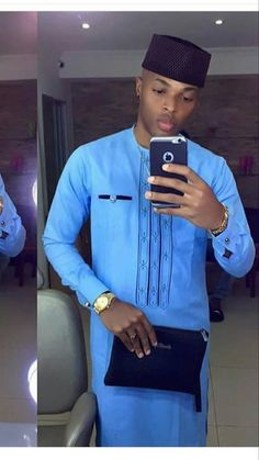 African fashion african men / clothing / suit / african wedding dashiki shirt man / african clothing / shirt and pants / up and down African Shirts For Men, African Dresses Men, African Attire For Men, African Clothing For Men, African Wear, African Style, African Outfits, Nigerian Men Fashion, African Men Fashion