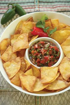 Easy Salsa Recipe With Pickled Peppers - Food - GRIT Magazine