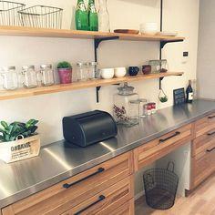 Kitchen/インダストリアル/ウッドワン/引っ越し前/ウッドワンのキッチン/クロムクのインテリア実例 - 2017-08-20 07:16:39