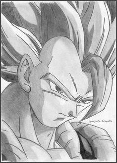 ✔ Anime Dibujos A Lapiz Dragon Ball Cool Art Drawings, Art Drawings Sketches, Pencil Drawings, Tattoo Men Small, Sketch Style, Ball Drawing, Art Anime, Dragon Ball Gt, Artist