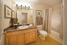 Large garden size soaking tub with oversized shower head in the bathrooms.