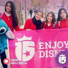 Se acerca #Disney para las chicas del Manuel Lucero en Córdoba! #promoTeam2016 en #Enjoy15!