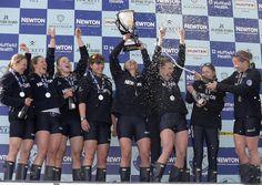The Newton Women's Boat Race winners #NewtonBoatRace #Bollinger #2015