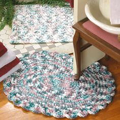 Leisure Arts - Soft-Touch Rugs Crochet Patterns ePattern, $3.99 (http://www.leisurearts.com/products/soft-touch-rugs-crochet-patterns-digital-download.html)