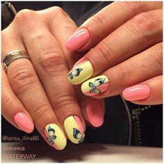 Дизайн ногтей гель-лаками Nanlac в технике WATERWAY. #обучениедизайнуногтей #waterway #nanoprofessional #коррекцияногтей #nanlac2090