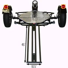 Folding dual rail or 3 rail motorcycle trailer drop the price features and ramp dimensions of the kendon stand up motorcycle trailer cheapraybanclubmaster Gallery