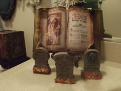 My Haunted Mansion Inspired Powder Room Madame Leota Spell Book