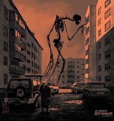 creepy old monster album Dark Fantasy Art, Fantasy Kunst, Fantasy Love, Monster Art, Arte Horror, Horror Art, Art Épouvante, Fantasy Creatures, Mythical Creatures